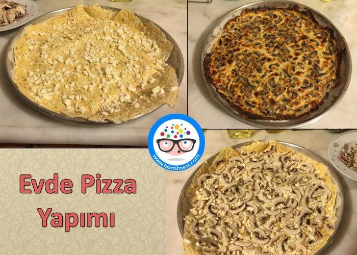 evde pizza tarifi