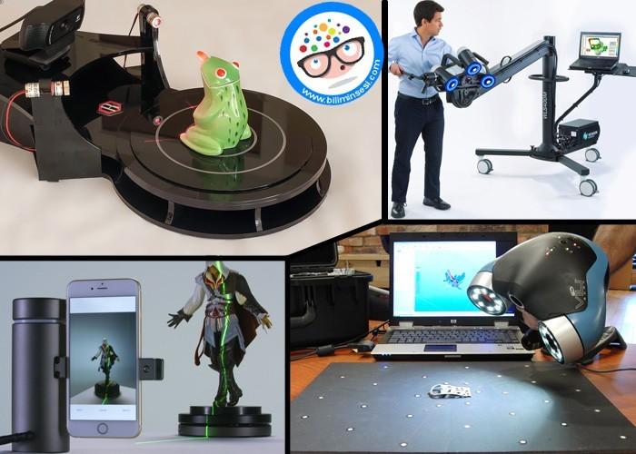 3D Tarayıcı Nedir