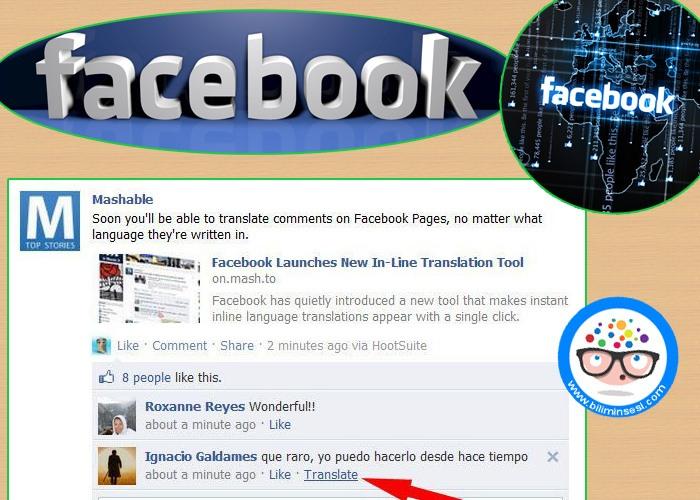 Facebook'ta dil sayisi 45 oldu