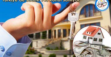 Turkiye'de saatte 143 konut satiliyor