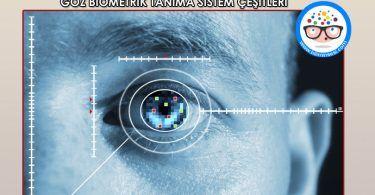 goz biometrik tanima sistem cesitleri