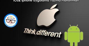 iOS-iphone-Uygulama-Yazma-Platformlari