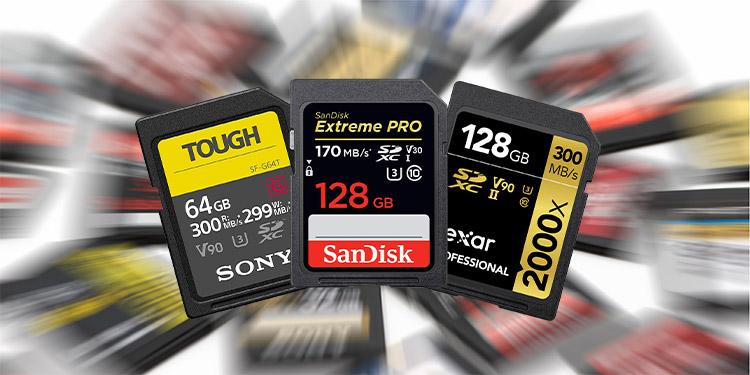 En Hızlı Hafıza Kartları - SD Kart, MicroSD, CompactFlash (CF), CFexpress